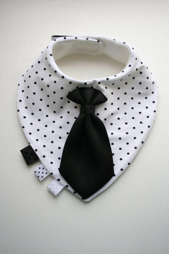 Baby dribbeln Lätzchen abnehmbare Krawatte / beugen, Krawatte, schöne Baby-Dusche, Taufe / Taufe Geschenk junge, Kind, Kleinkind