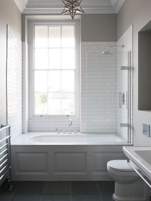 50 Small Bathroom Ideas That Increase Space In 2021 Bathroom Tub Shower Tub Shower Combo Shower Over Bath