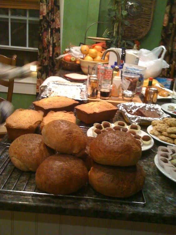 Christmas baking 2011