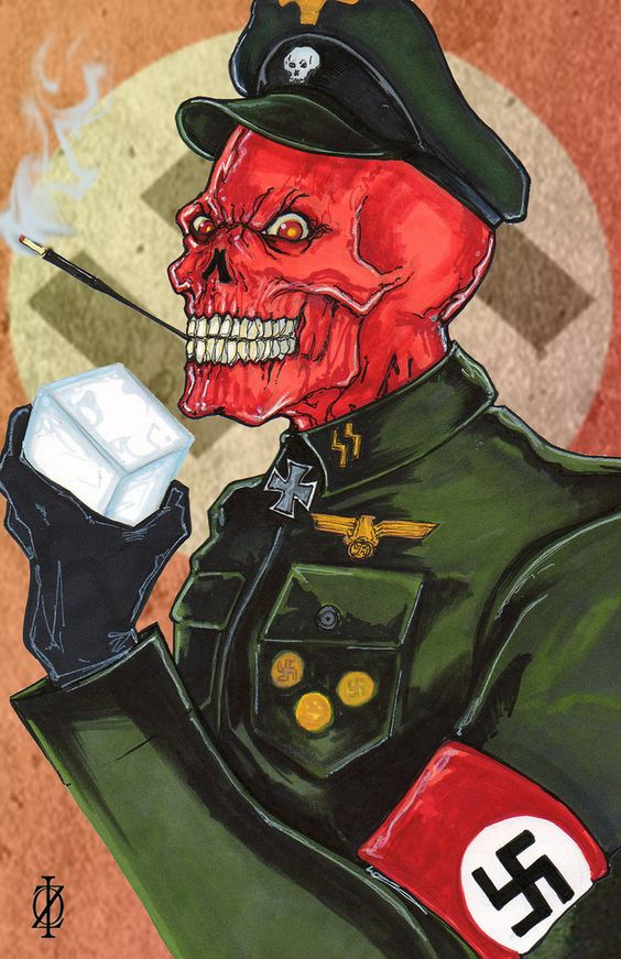The Red Skull by ChrisOzFulton