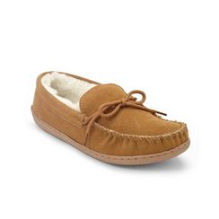 Foamtreads™ Women's 'Benny' Leather Moccasin Slippers For Aunt Theresa