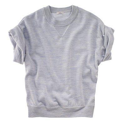 sweatshirt tee by Madewell : Minimal + Classic