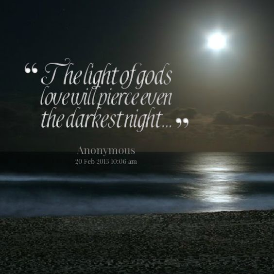 Famous Night Quotes: Light And Love Quotes By @quotesgram