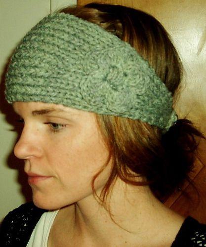 Knit Headband Pattern Ravelry : Ravelry: Flower Headband FREE pattern How to Knit-Along ...