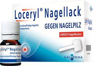 Home Loceryl Nagelpilz Behandlung Pilzinfektion Nagelpilz