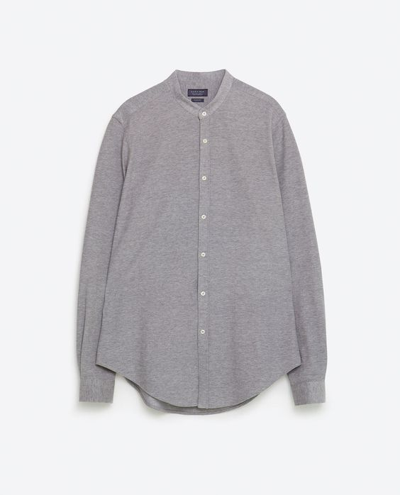 Image 8 of PIQUÉ SHIRT from Zara