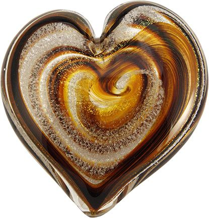 Giant Heart Memorial from Cremation Ash