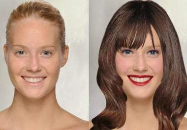 I will do a makeover and send your picture in 3 different hairstyles and makeup just like a Hollywood Star for $10