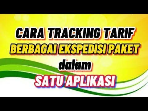 Cara Tracking Tarif Paket Berbagai Ekspedisi Dalam Satu Aplikasi Youtube Youtube