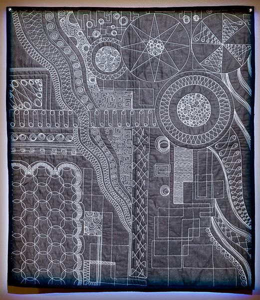 How Many Different Quilting Designs Does this Quilt Have? - TheQuiltShow.com: