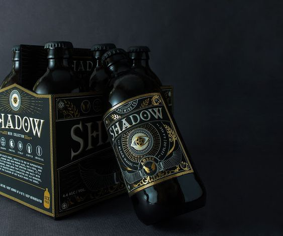 Packaging | Shadow Beer by Zoey Chung