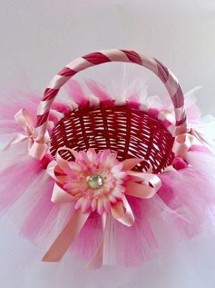 Como decorar una canasta de mimbre aprender - Como forrar una cesta de mimbre ...