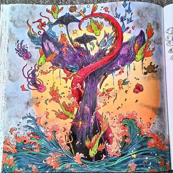 imagimorphia coloring pages - gel pens adult coloring and colored pencils on pinterest