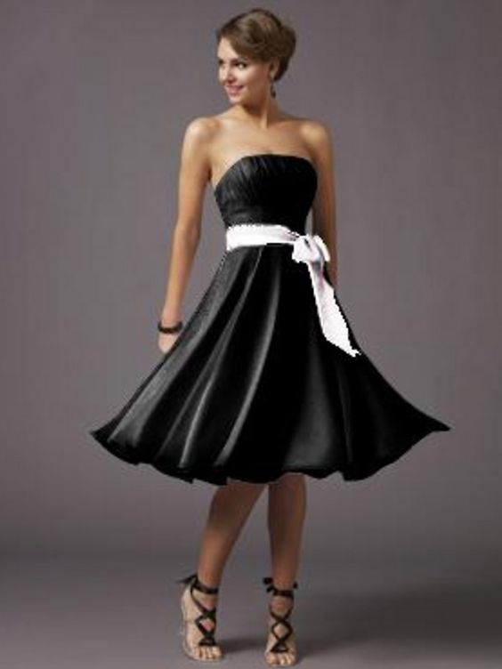bridesmaid dresses by color - ... Short A-Line Knee-Length ...