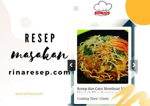 Resep Masakan Rinaresep Com Untuk Perempuan Milenial Resep Masakan Resep Masakan