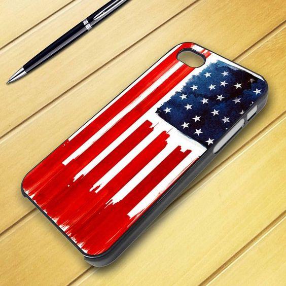 Merica iPhone Case | iphone 5 case - US america flag iphone | iPhone Cases