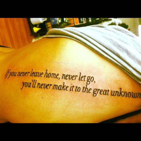 My 8th Tattoo. Keep Your Eyes Open. Needtobreathe.