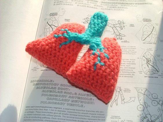 New! Lungs by AnOptimisticCynic: http://wp.me/pjlln-2ut #etsy #crochet #amigurumi: