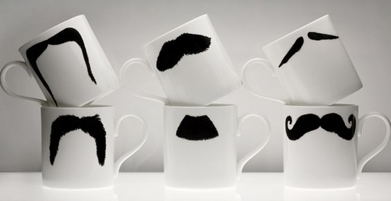 Mugs to go with the mustacheparty