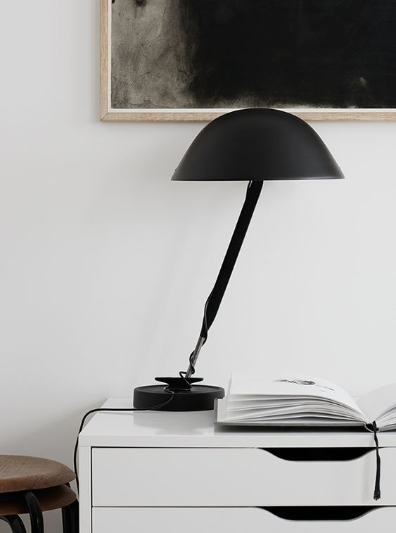 Top 12 table lamps, Inga Sempé lamp, via http://www.scandinavianlovesong.com/