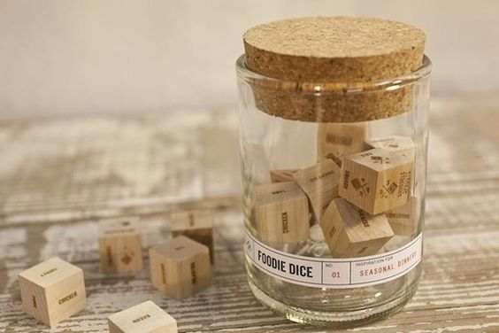 Foodie Dice Encourages You to Gamble with Your Food