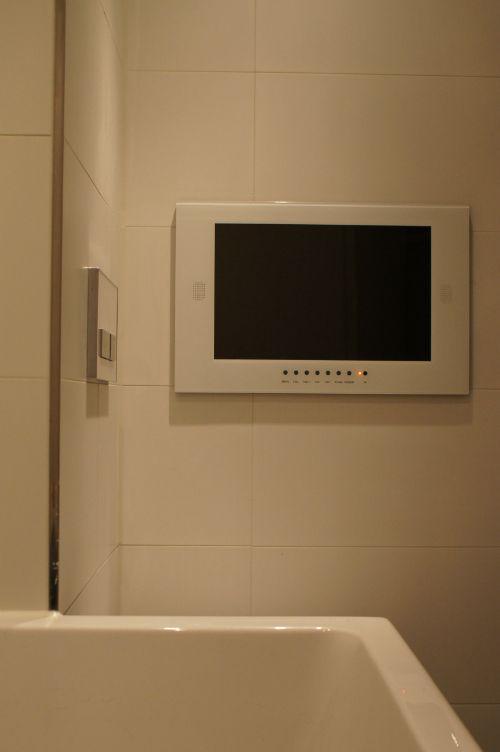 Splashvision Bigsplash Inbouw Tv 19 Inch Wit Badezimmer Fernseher Badezimmer Und Fernseher