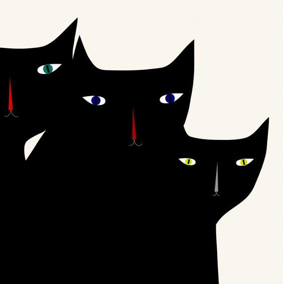 #yearofcolor kitties