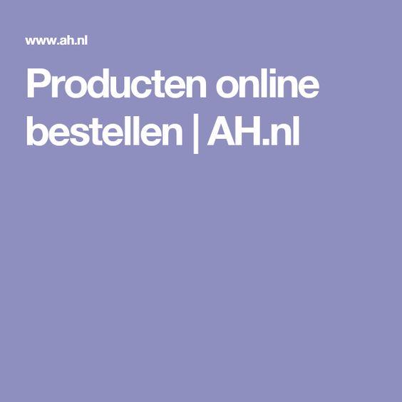 Producten online bestellen | AH.nl