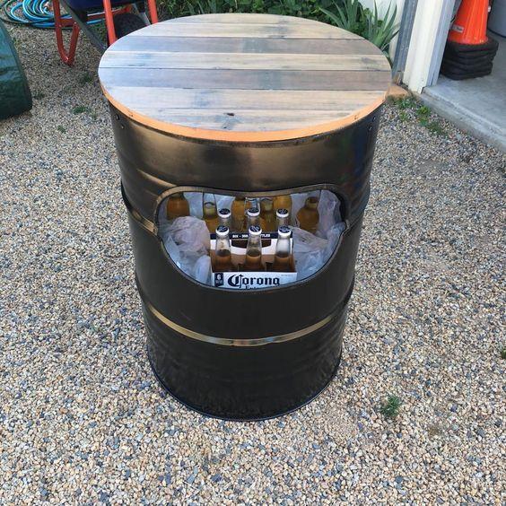 Ideas Para Decorar Con Barriles De Metal Reciclados Ideas