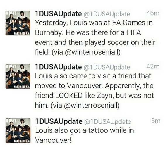 Some Louis updates