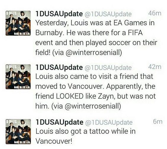 Some Louis updates