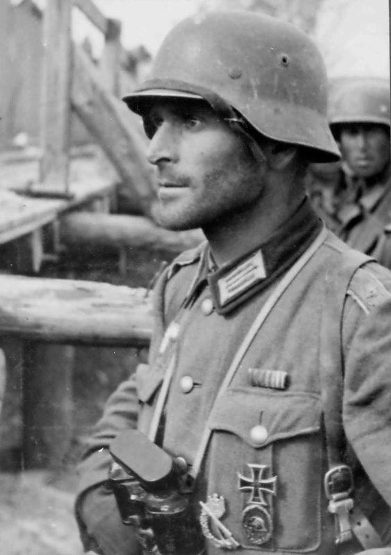 Image result for german soldier with wound badge