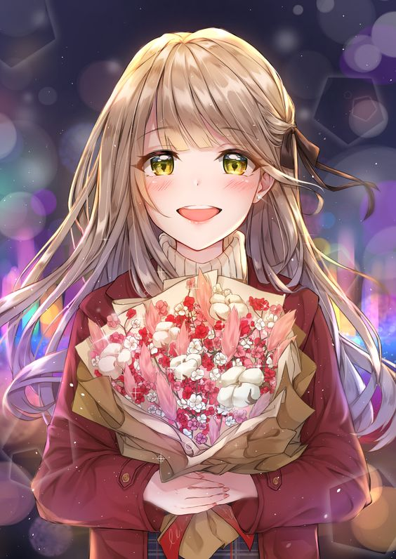 Thank you for the bouquet! [Original]