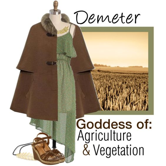 Demeter (Goddess of Agriculture)
