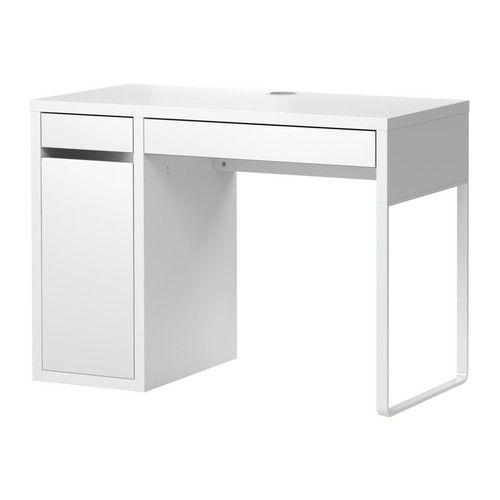 Micke cable vanities and micke desk for Bureau ikea micke