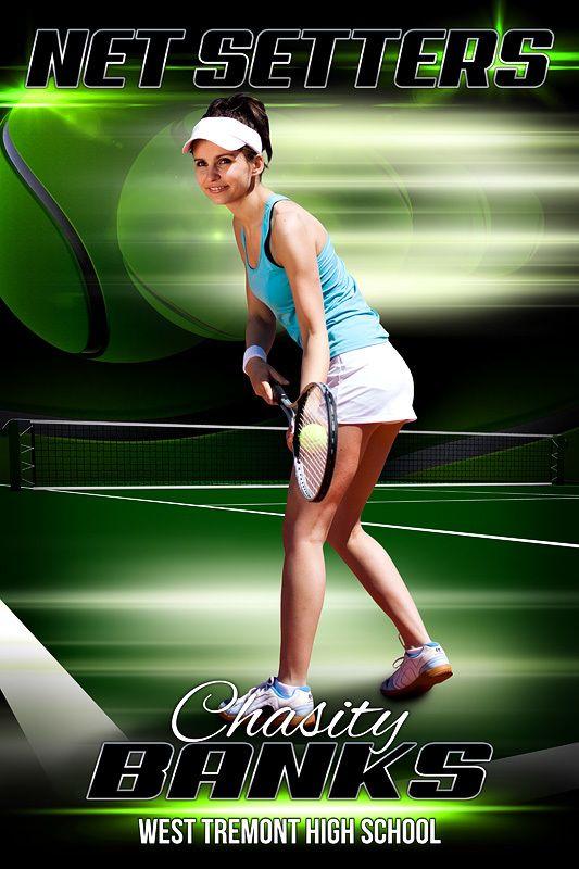 Player Banner Photo Template Tennis Tennis Sport Poster Sport Banner