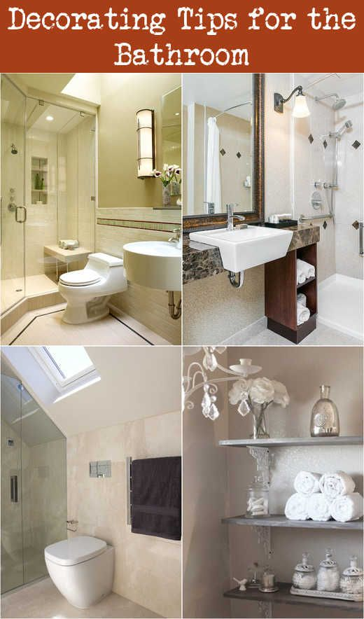 Decorating Tips For The Bathroom Modern Bathrooms Interior