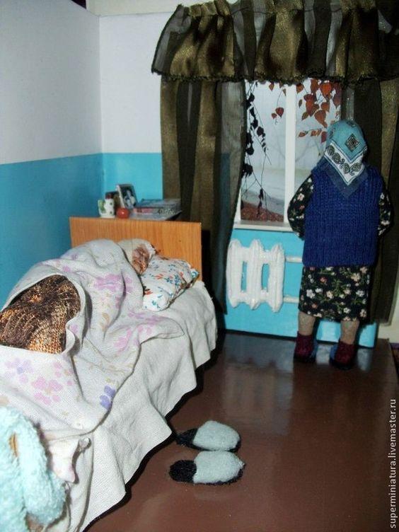 Удивительные кукольные миниатюры Ирины Верхградской