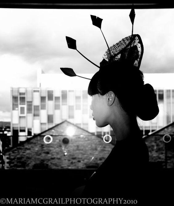Isabella Headpiece by Mes Petits Chapeaux   Photography - Maria McGrail  Model - Yomiko Chen  MUA - Sarah Cullen