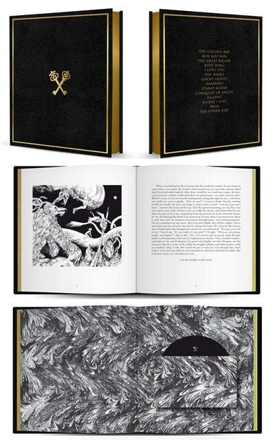 Woodkid - The Golden Age. Limited Edition album book with illustrations by Jillian Tamaki