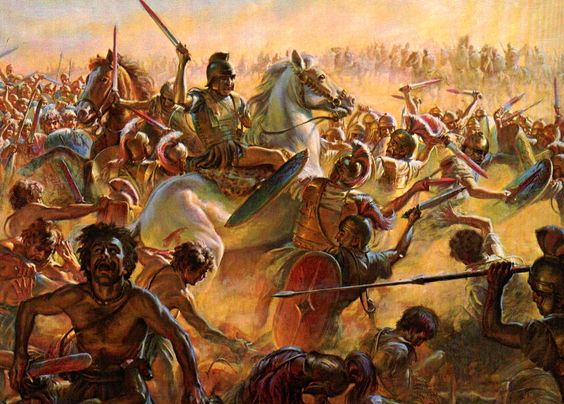 hannibal and the battle of cannae essay These events happened before the battle of cannae (1) hannibal's stratagem to break out of the blockade set by fabius (2-4) supplementary essay on chapter 5: the end of hannibal's campaign in italy (218-203 bc) (1) hāc pugnā pugnātā: ablative absolute.