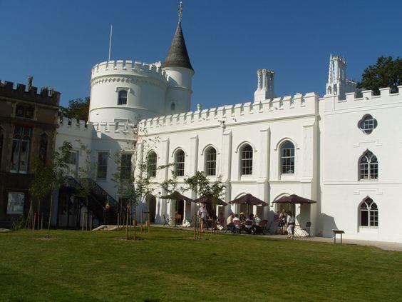 Strawberry Hill Castle, Twickenham.