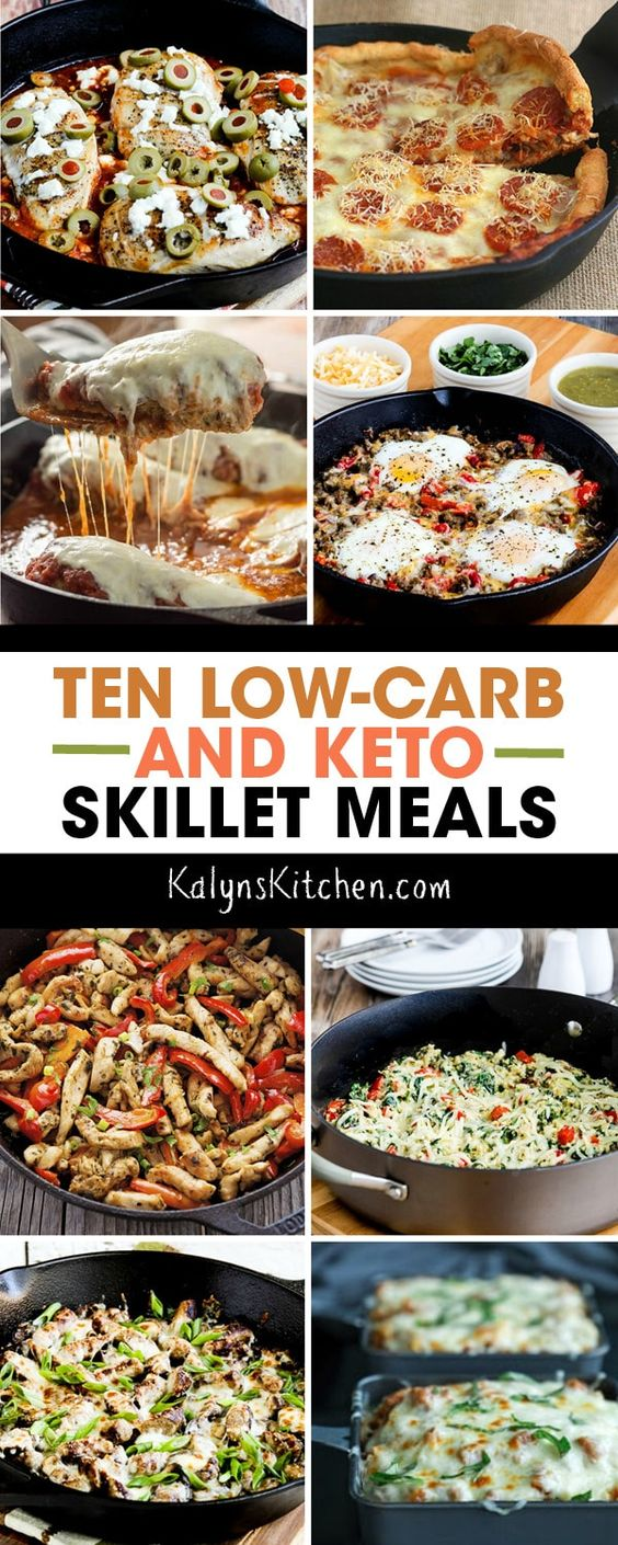 Ten Low-Carb and Keto Skillet Meals – Kalyn's Kitchen