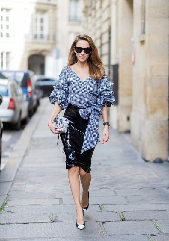 How to Wear a Blouse Stylishly – Top 18 Outfit Ideas to Wear Blouse #outfit #fashion #blouse #style