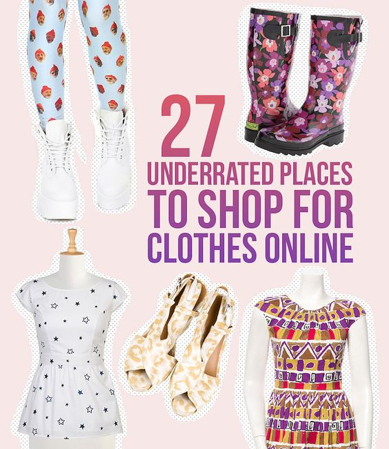 27 Totally Underrated Places To Shop For Clothes Online | Online ...