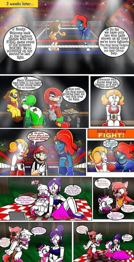 Atc Part 2 By Cacartoon Wiki Fnaf Ocs Au S Amino Anime Fnaf Fnaf Fnaf Comics