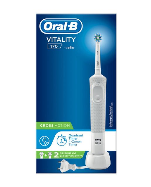 Cepillo De Dientes Eléctrico Vitality 170 Oral B En 2021 Cepillo De Dientes Eléctrico Cepillos De Dientes Cepillo