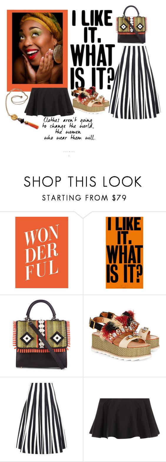 """Untitled #413"" by obsessedaboutstyle ❤ liked on Polyvore featuring Les Petits Joueurs, Sanchita, Alexander Wang, Rosetta Getty, fun, girly and polyvoreeditorial"