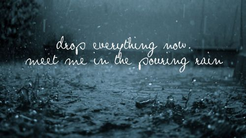 Sparks Fly- Taylor Swift: Kiss Me, Taylor Swift, Quotes Photography, Fly Taylor, Rainquotes Kiss, Rainy Days, Sparksfly, Sidewalk
