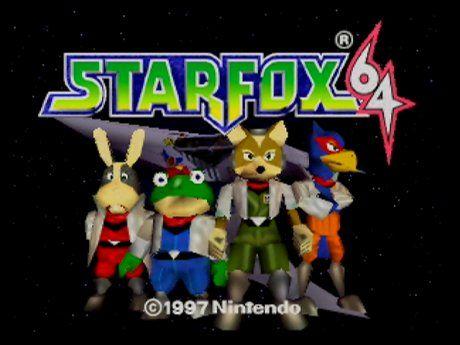 Star Fox 64.
